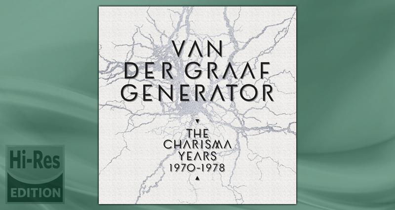 Van der Graaf Generator - The Charisma Years - 5.1 Blu-ray / DVD ...