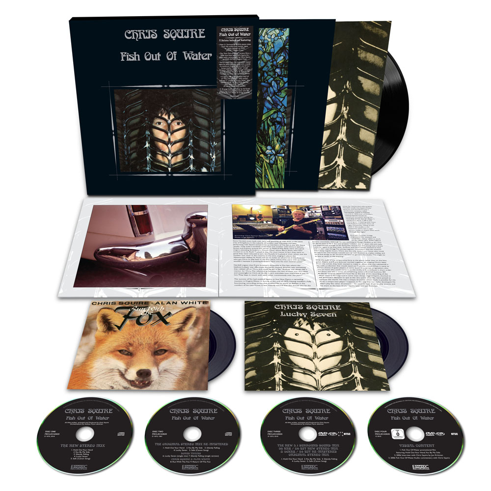Limited Edition of Fish Out of Water by Chris Squire
