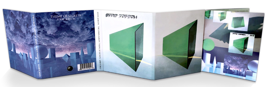 Eddie Jobson - Green Album and Theme of Secrets Bluray Hi-Res Edition