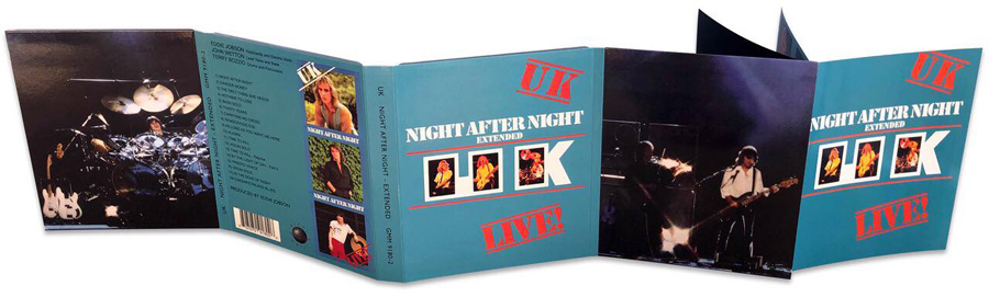 UK - Night After Night - Stand Alone Deluxe Blu-ray Edition