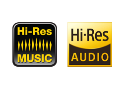 hi-Res music / hi-Res audio
